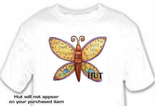 T-shirt, WHEN I COUNT MY BLESSING, I COUNT U TWICE - (youth & Adult Sm - xLg)