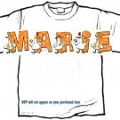 T-shirt, Your Name in SILLY GOOSE, - (adult Xxlg)