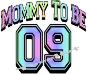 MOMMY TO BE 11  -- MATERNITY shirt, (2xLarge or 3xLarge)