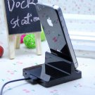 Mobile Phone Dock Charger iphone 4 4G iphone4 4S Dock station Desk ipad 23 ipad3