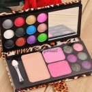 2 Color Eyeshadow Palette Cosmetic Professional Makeup Kit Makeup Set Blusher Powder Palette