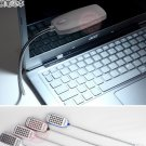 Computer Light USB light Lamp 28pcs LED lamp, flexible tube and 4 colors