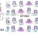 3D Design cute DIY cartoon colorful diamonds Tip Nail Art Nail Sticker