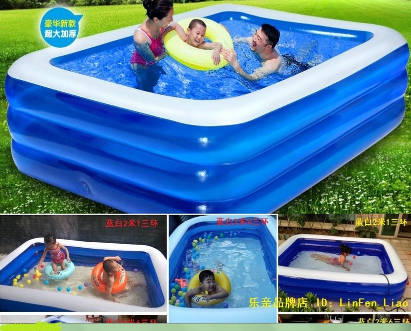 Large swimming pool thickening inflatable big swimming for Large size inflatable swimming pool