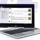 11.6 inch 4G+320GB tablet laptop computer rotating touch screen with windows 7 or windows 8