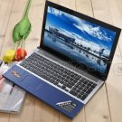 15.6 inch laptop computer Atom N2600 4G RAM 640G HDD DVD-RW WIFI Bluetooth HDMI Webcam