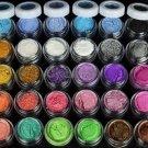 30 Pcs Cosmetic Pigments Colors Eye Shadow Powder Set
