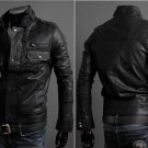 Leather Jacket Men Winter Jackets and Coats Thickening