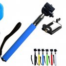 Self-Shooting Stick Extendable Hand Wireless Selfie Clip Holder Bluetooth Camera