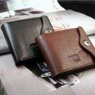 Men's Wallet Multifunctional Short Design Men Wallet Zipper Coin Purse Card Holder