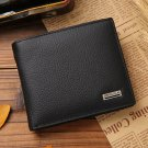 Men Leather hasp design wallet with coin pocket Wallet fashion