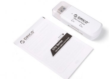 USB3.0 Reader Dual USB CardReader support SD/TF micro sd card reader