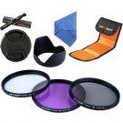 Digital Camera Acessories Covers Filter 67mm UV+CPL+FLD Lens Filter+lens Cap