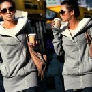 Women Hoodie Ladies Jacket Coat Warm Outerwear Hooded Zip