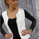 Colors Fashion New Slim Ladies Women Suit Coat Jacket Zip Blazer Medium size