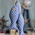 Mediterranean fishes home Decoration wall ornaments Pieces