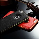 "Stylish Leather and Metalic Cover Cases For iPhone 5 5S 6 4.7"" Plus"