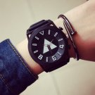 Stylish Men Quartz Wrist Watches Triangle