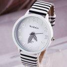 2015 Women Zebra Design WristWatch Dress Watches