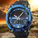 SOLAR POWER LED Digital Quartz Watch  Waterproof WATCH