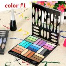 New 27/Colors eyeshadow palette makeup maquiagem Kit
