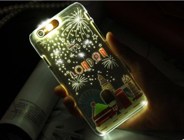 iPhone 6 Plus/6S Plus Luminous Glitter Crystal Clear Mobile Phone Cover