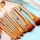 2016 1 Set Pro Make Up Brushes For Powder Foundation Eyeshadow Lip Kit