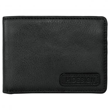 Hidesign Charles Classic Slim Wallet Black