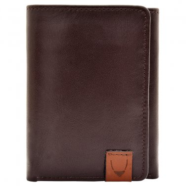 Hidesign Dylan Trifold Wallet with ID Compartment Brown