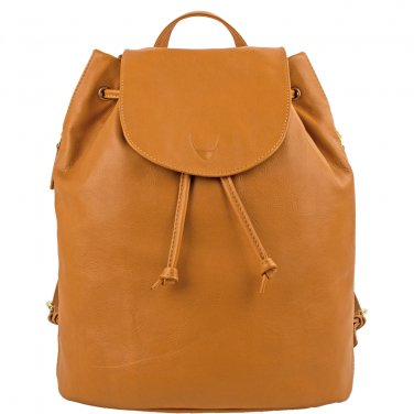 Hidesign Leah Leather Backpack Honey