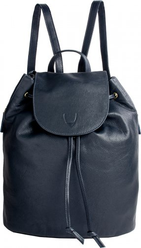Hidesign Leah Leather Backpack Blue