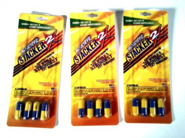 DIET & ENERGY SPECIALISTS STACKER 2 WORLD'S STRONGEST FAT BURNER CAFFIENE