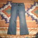 "FADED GLORY FLARE WOMEN'S JEANS SIZE 6, 29"" INSEAM"
