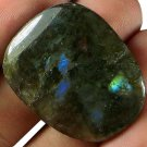 NICE! 57.4CT ALL Natural Madagascan Labradorite Cab SLB1196 FREE SHIPPING!