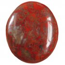 38.7CT NICE! Natural Blood Poppy Jasper Cab Stone  JAS38 FREE SHIPPING!