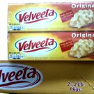 ORIGINAL KRAFT VELVEETA CHEESE 4 LBS 2 PACK OF 2 LBS. EA. FREE SHIPPING!