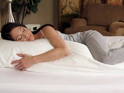 High Quality - 20 x 54- Body Pillow - Feather Down Hypoallergenic FREE SHIPPING!