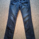 "OLD NAVY WOMEN'S JEANS SIZE 8  29"" INSEAM ZIPPERED CALF FREE SHIPPING!"
