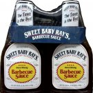 SWEET BABY RAY'S BBQ SAUCE BARBECUE 80 OZ. TOTAL 2/40 OZ BOTTLES FREE SHIPPING!