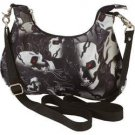 Extreme Pak™ BIKER STYLE Red Eyed Skull  CONVERTIBLE PURSE Shoulder belt loops