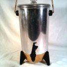Vintage Fun Mirro Party Perk 22 Cup Electric Coffee Percolator