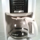 SALE! MR. COFFEE  12 CUP COFFEE MAKER WHITE AUTOMATIC 2003398 FREE SHIPPING!