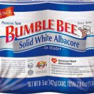 BUMBLE BEE WHITE ALBACORE TUNA IN WATER 8 - 5 OZ. CANS FREE SHIPPING!