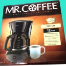 MR. COFFEE 12 CUP SWITCH COFFEE MAKER Pause 'n Serve
