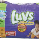 Luvs Baby Diapers Size 3 Night Lock TECH Sold by Cases of 4 items FREE SHIPPING!