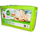 Seventh Generation Diapers Stage 1 (4x40 CT) chlorine-free FREE SHIPPING!