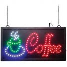 COFFEE PROGRAMMED LED SIGN COFFEE SHOP STORE RESTAURANT FREE SHIPPING!
