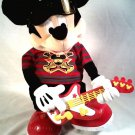 "FISHER PRICE ""ROCK N' ROLL""  ROCK STAR ANIMATED DANCING MICKEY MOUSE SINGING"