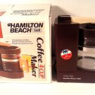 VINTAGE HAMILTON BEACH 784 4C '70'S ERA COFFEE MAKER BOX & PAPERS FREE SHIPPING!