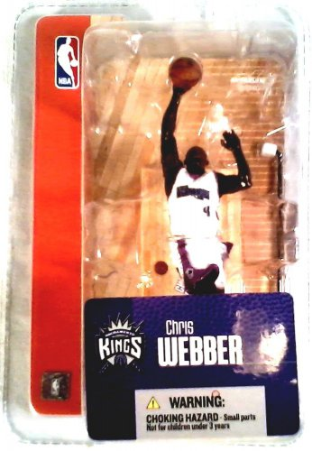 NEW IN PACKAGE CHRIS WEBBER SACRAMENTO KINGS FIGURINE